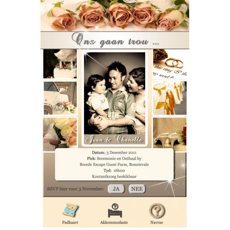 e invites invitations stationery in cape town invitations