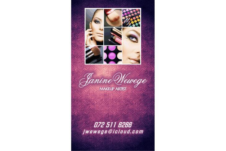 Janine Wewege Makeup Artist